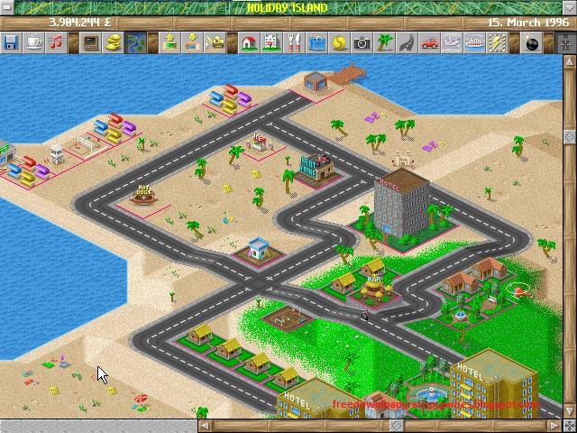 Holiday Island Game