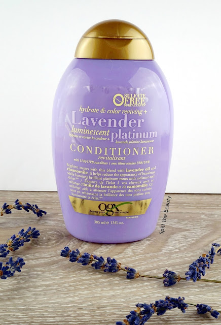 OGX Lavender Luminescent Platinum Shampoo & Conditioner - Review