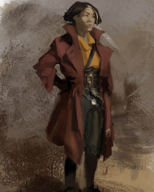 anna fang sketch red coat