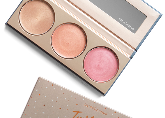 trio illuminateurs teint Twilight Radiance bareMinerals avis revue