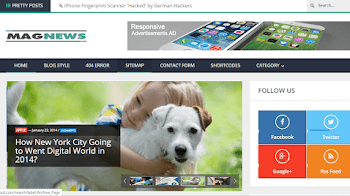 Share Template Blogger Nagnews Trị Giá 20$ Cho Blog Tin Tức