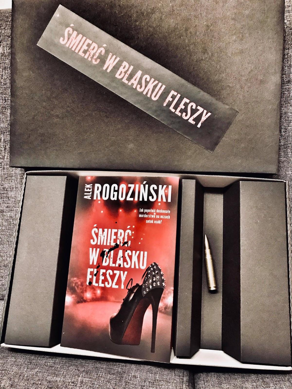 Alek Rogoziński - Śmierć w blasku fleszy