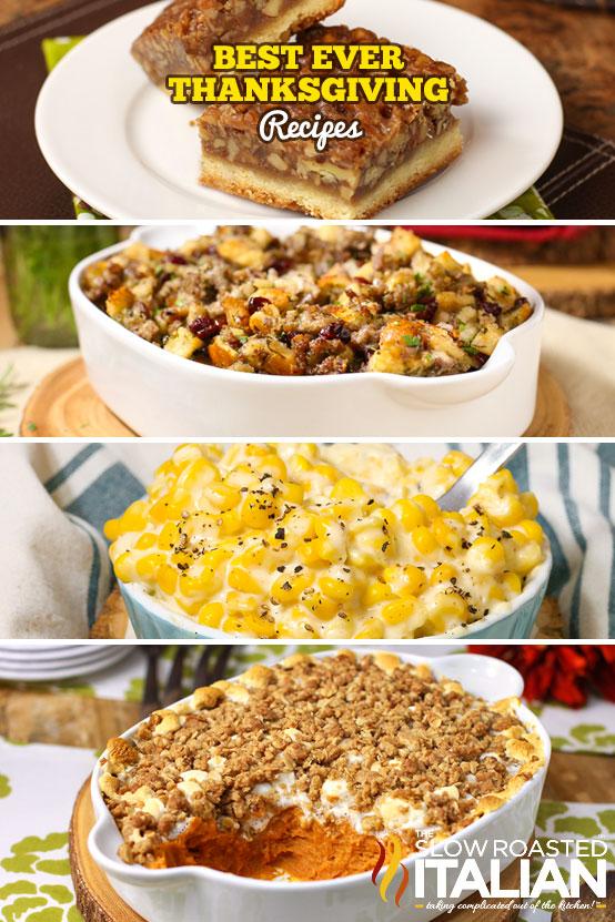 https://www.theslowroasteditalian.com/2019/11/best-thanksgiving-recipes.html