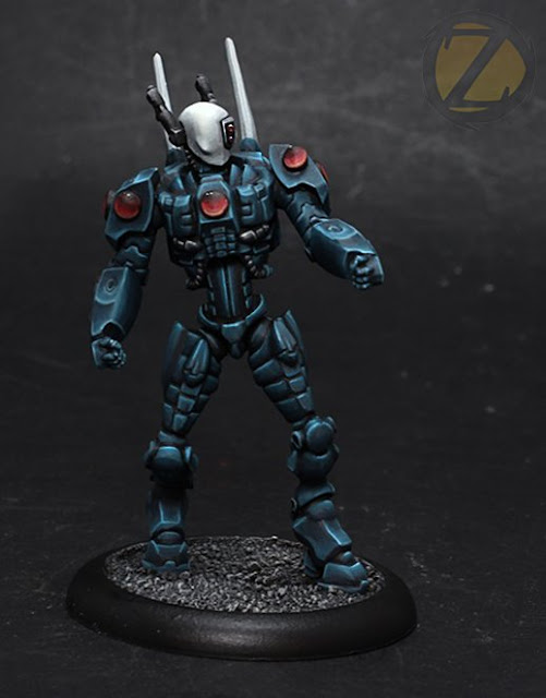 Zealot Miniatures: New Aegis VII - Science Fiction Trooper