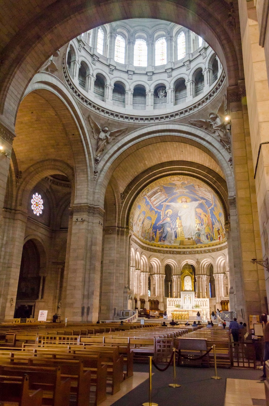 Entrada da Basílica de Montmatre