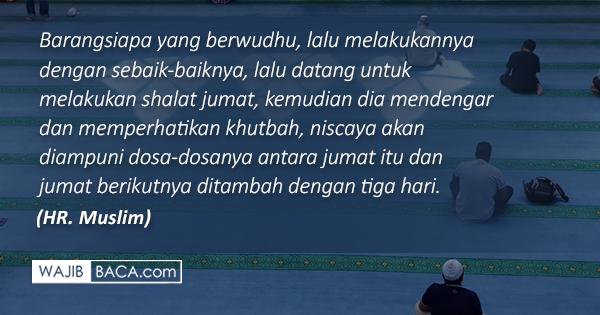 Niat Shalat Jumat Lengkap Dengan Shalat Sunnahnya Beserta