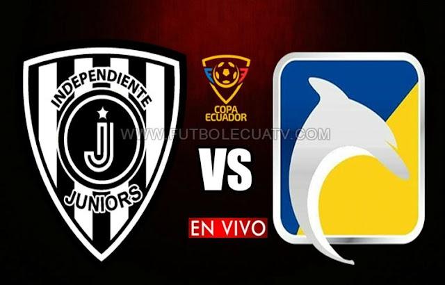 Independiente Juniors se mide ante Delfín en vivo ⚽ a partir de las 15:30 horario local por los cuartos de final ida de la Copa Ecuador a jugarse en el campo La Cocha, siendo el juez principal a mencionar luego con transmisión del medio oficial El Canal del Fútbol y TVCable.