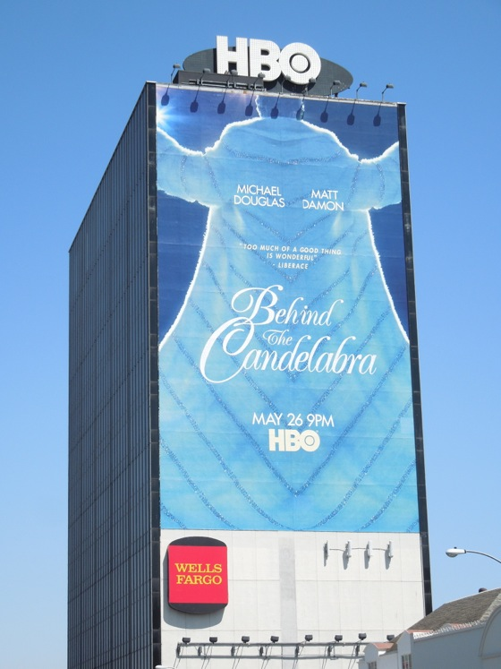 Behind the Candelabra billboard