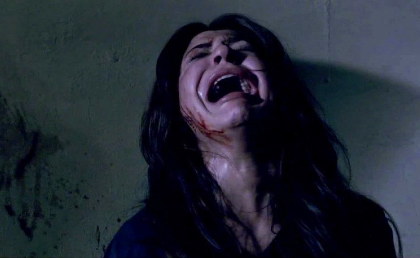 Anushka Sharma as Meera shrieks, in NH10, Directed by Navdeep Singh