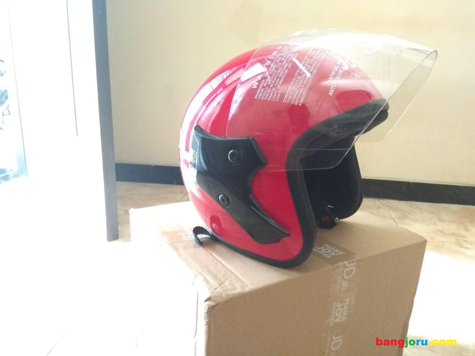 Bangjoru Review Helm Jd Joy Helmet Mungil Yang Lumayan Kaca Spion Sepeda