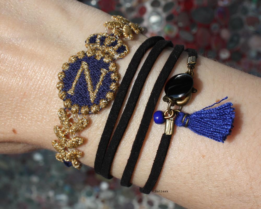 Bracelet Napoléon 1er  Missiu et Emeline création