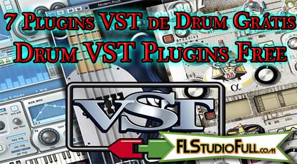 7 Plugins VST de Drum Grátis | Drum VST Plugins Free