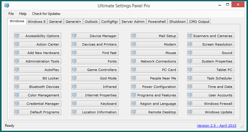 Ultimate Settings Panel Pro version 2.5 Released 3