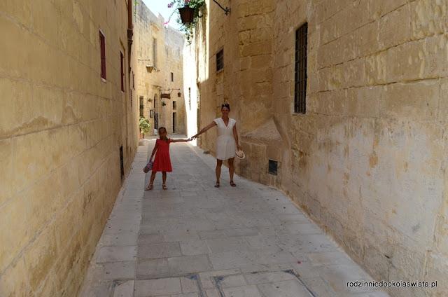 Malta z dzieckiem- Mdina i Rabat
