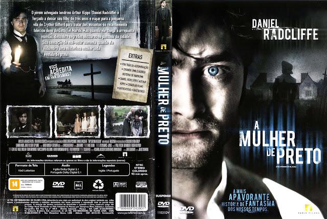 Capa DVD A Mulher de Preto
