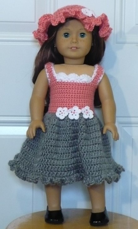 Doll with Accessories Free Crochet Patterns | 730x440