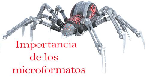 Importancia de los microformatos para un blog