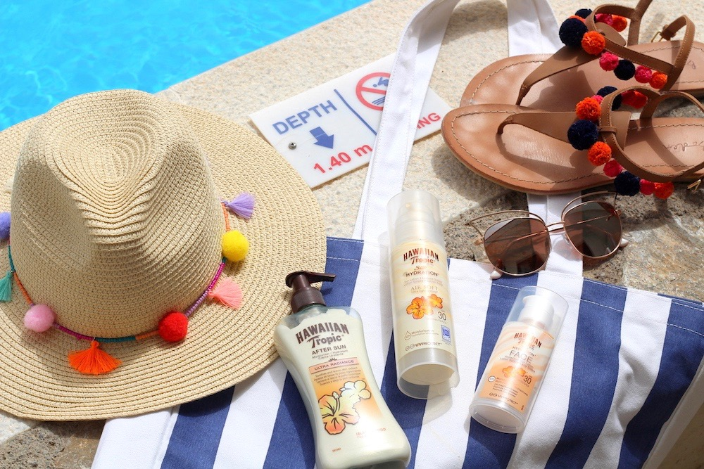 staying safe in the sun peexo beauty travel blogger