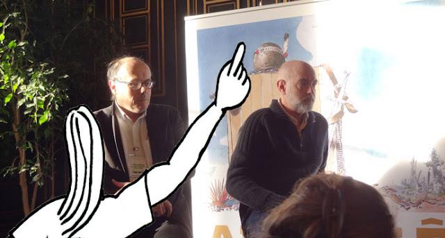 Angoulême FIBD 2017, rencontre entre Daniel Clowes et Zéda !