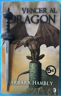 Portada del libro Vencer al dragón, de Barbara Hambly