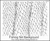 ODBD Fishing Net Background