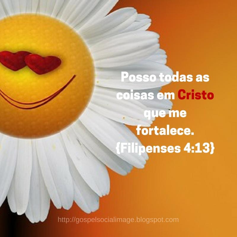 Imagem com versículo de Fé Gospel