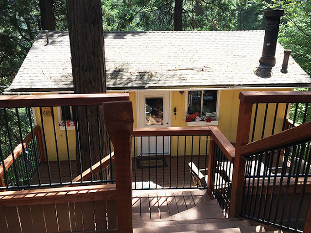cabin in the woods, arrowhead villas, lake arrowehead, bugsy siegel, california, real estate