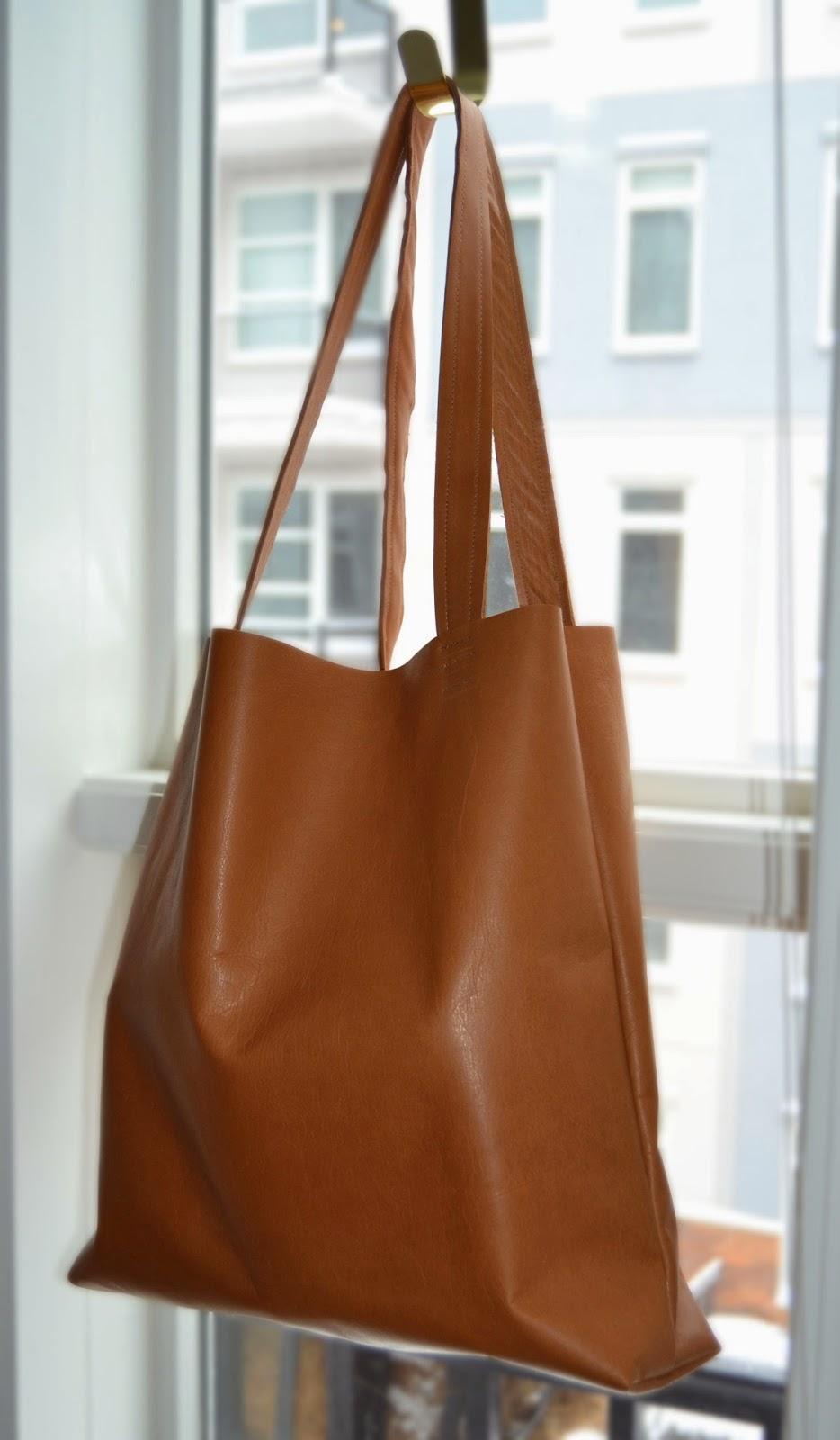 Diy Sew Leather Tote Bag