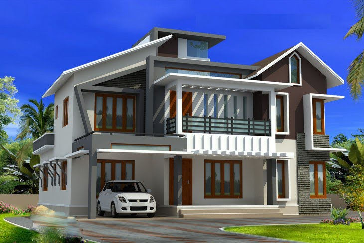 A fresh home elevation for your 2578 sq ft house