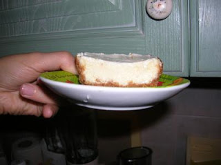 Cheesecake Light al Forno
