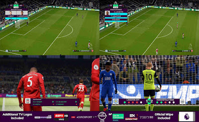 PES 2019 Scoreboard Premier League 2019 by Cesc