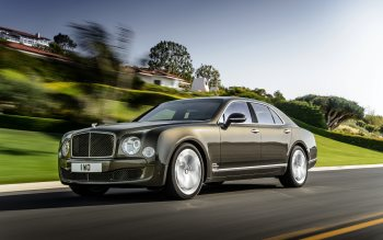 Wallpaper: Bentley Mulsanne Speed 2015