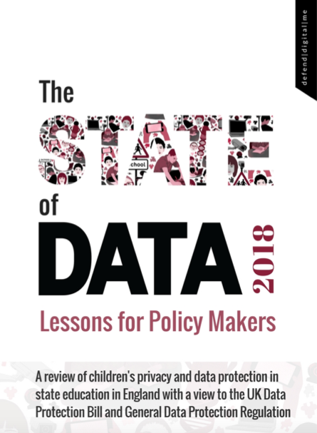 'The State of Data' - essential reading to understand children's data processing in education