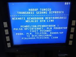 Saldo Terdebet Uang Tidak Keluar Dari ATM