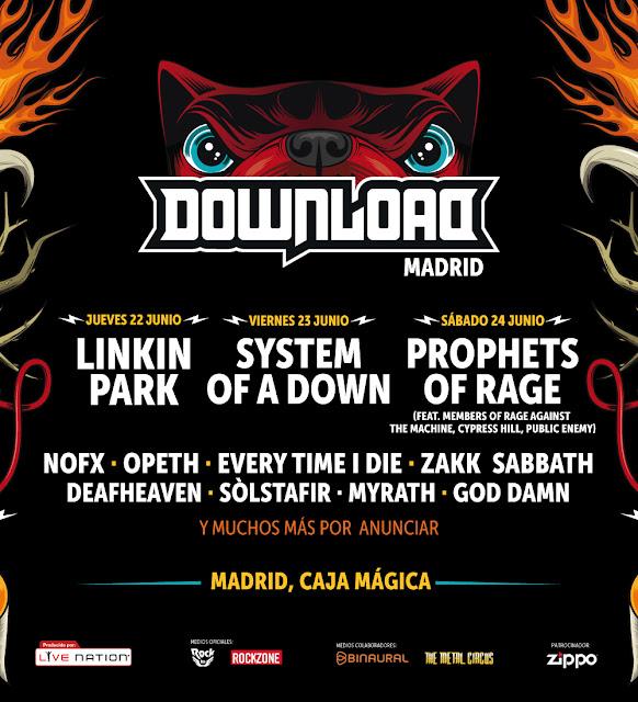 Download, Madrid, 2017, Festival, Música