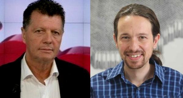 Alfonso Rojo tendrá que pagar 20.000 euros a Pablo Iglesias por vulnerar su honor