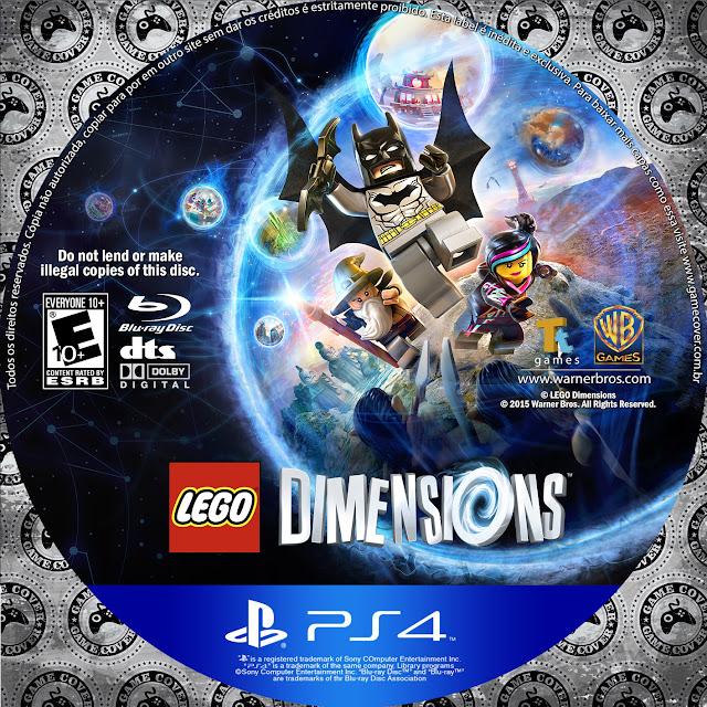 Label LEGO Dimensions PS4 [Exclusiva]