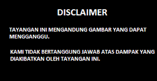 Contoh gambar ilustrasi disclaimer vidio