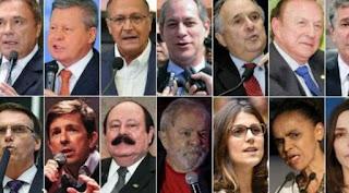 A cinco meses para registro, eleição presidencial já tem 11 pré-candidatos