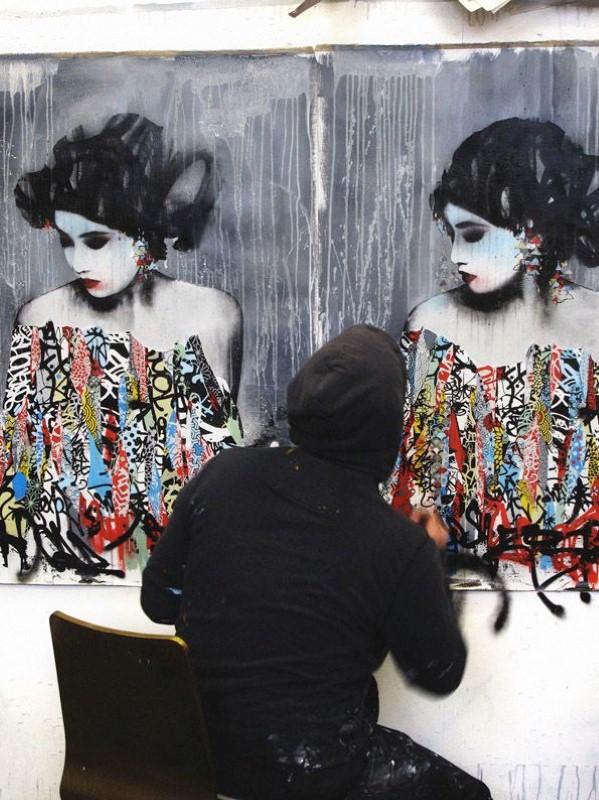 Уличный художник. Hush 21