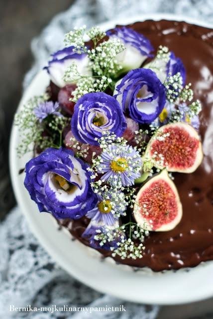 bernika, tort, ciasto, kukulka, urodziny, deser, kulinarny pamietnik, czekolada