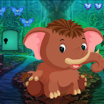 Games4King Little Mammoth Rescue Walkthrough
