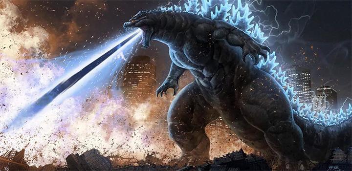 Godzilla 2019 ilustração