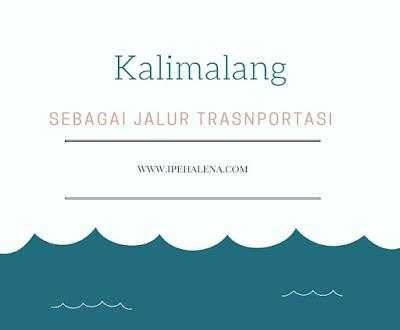 Kalimalang Sebagai Jalur Transportasi