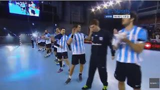 ARG panamericano handball