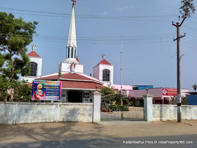 Kadambathur Plots - Kadambathur Church