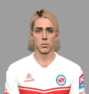 PES 2017 Faces Claudio Spinelli by DanielValencia_EA