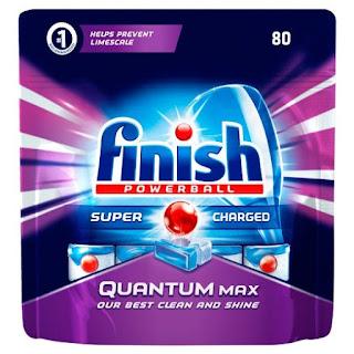 LOW PRICE Finish Powerball Quantum Original Dishwasher contains 80 Tablet £13