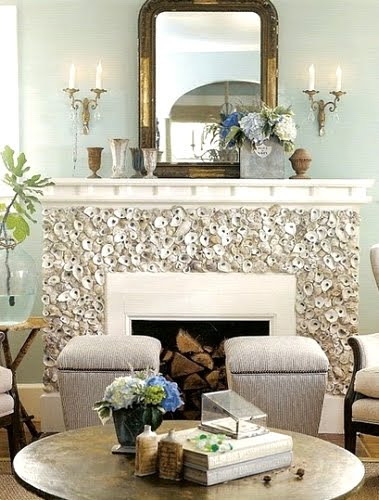 oyster fireplace