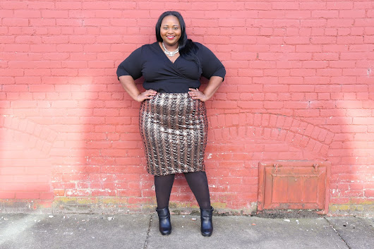 Eclectic Kurves & Simply Curvy's Holiday Lookbook: FAB Girls Night Out